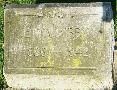 VENARD KIRBY, ETTA - Montgomery County, Ohio | ETTA VENARD KIRBY - Ohio Gravestone Photos
