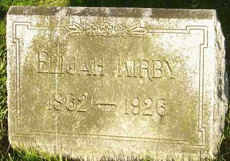 KIRBY, ELIJAH - Montgomery County, Ohio | ELIJAH KIRBY - Ohio Gravestone Photos