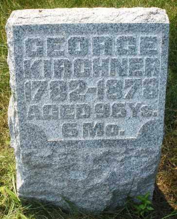 KIRCHNER, GEORGE - Montgomery County, Ohio   GEORGE KIRCHNER - Ohio Gravestone Photos