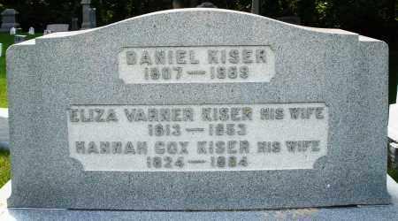 WARNER KISER, ELIZABETH - Montgomery County, Ohio | ELIZABETH WARNER KISER - Ohio Gravestone Photos