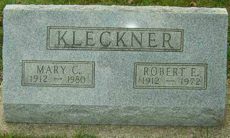 KLECKNER, ROBERT - Montgomery County, Ohio | ROBERT KLECKNER - Ohio Gravestone Photos