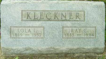 KLECKNER, LOLA L - Montgomery County, Ohio | LOLA L KLECKNER - Ohio Gravestone Photos