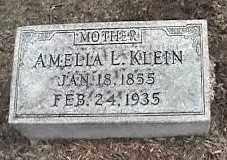KLEIN, AMELLA L. - Montgomery County, Ohio | AMELLA L. KLEIN - Ohio Gravestone Photos