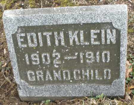 KLEIN, EDITH - Montgomery County, Ohio | EDITH KLEIN - Ohio Gravestone Photos