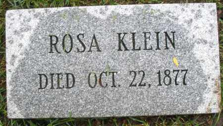KLEIN, ROSA - Montgomery County, Ohio | ROSA KLEIN - Ohio Gravestone Photos