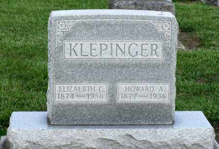 KLEPINGER, HOWARD A. - Montgomery County, Ohio   HOWARD A. KLEPINGER - Ohio Gravestone Photos