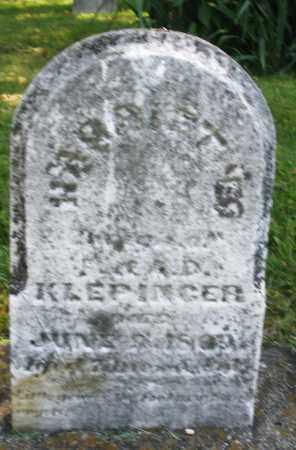 KLEPINGER, HARRIET - Montgomery County, Ohio | HARRIET KLEPINGER - Ohio Gravestone Photos