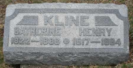 KLINE, CATHERINE - Montgomery County, Ohio   CATHERINE KLINE - Ohio Gravestone Photos