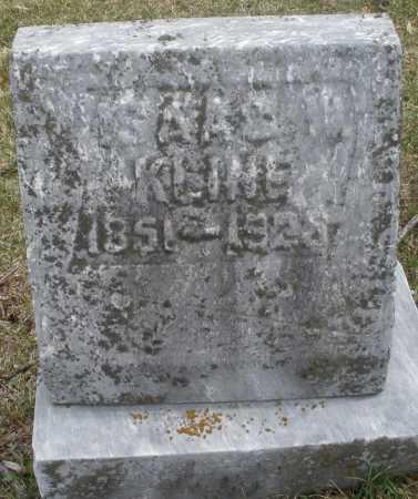 KLINE, ISAAC - Montgomery County, Ohio   ISAAC KLINE - Ohio Gravestone Photos