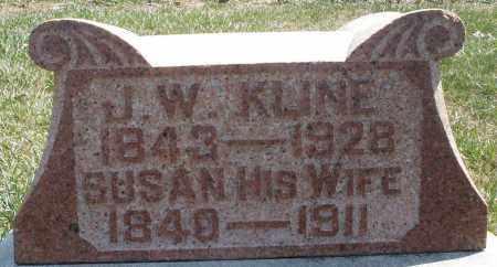 KLINE, SUSAN - Montgomery County, Ohio   SUSAN KLINE - Ohio Gravestone Photos