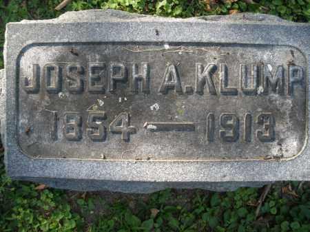 KLUMP, JOSEPH A. - Montgomery County, Ohio   JOSEPH A. KLUMP - Ohio Gravestone Photos