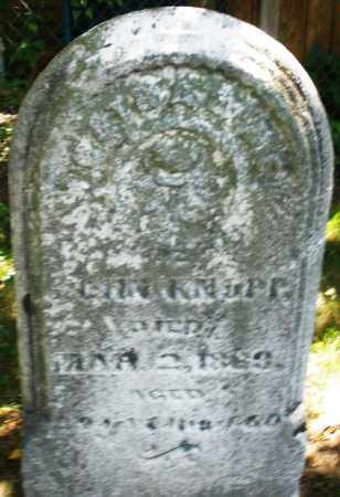 KNAPP, CATHARINE - Montgomery County, Ohio   CATHARINE KNAPP - Ohio Gravestone Photos
