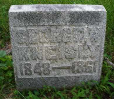 KNEISLY, GEORGE - Montgomery County, Ohio   GEORGE KNEISLY - Ohio Gravestone Photos
