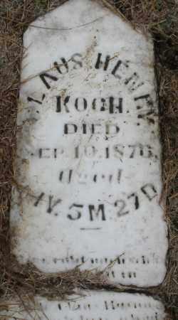 KOCH, ?LAUS HENRY - Montgomery County, Ohio | ?LAUS HENRY KOCH - Ohio Gravestone Photos