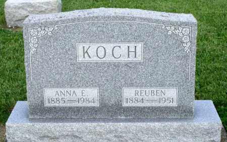 KOCH, ANNA E. - Montgomery County, Ohio | ANNA E. KOCH - Ohio Gravestone Photos