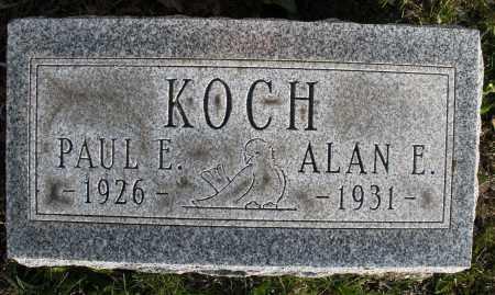 KOCH, PAUL E. - Montgomery County, Ohio | PAUL E. KOCH - Ohio Gravestone Photos