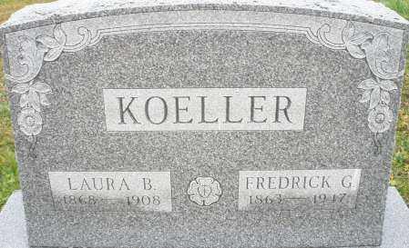 KOELLER, LAURA B. - Montgomery County, Ohio | LAURA B. KOELLER - Ohio Gravestone Photos