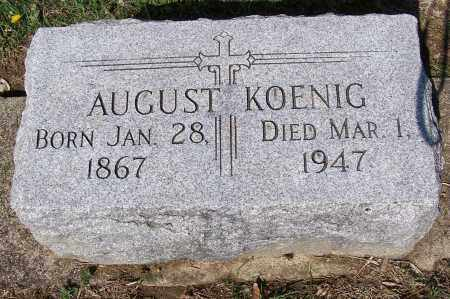 KOENIG, AUGUST - Montgomery County, Ohio | AUGUST KOENIG - Ohio Gravestone Photos
