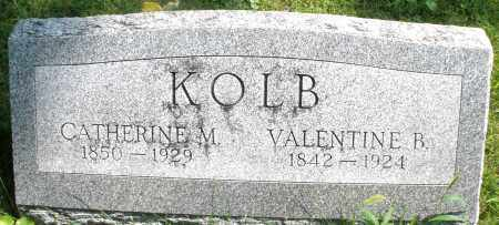KOLB, CATHERINE M. - Montgomery County, Ohio   CATHERINE M. KOLB - Ohio Gravestone Photos