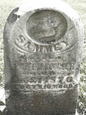 KOOGLER, SAMMEY - Montgomery County, Ohio | SAMMEY KOOGLER - Ohio Gravestone Photos