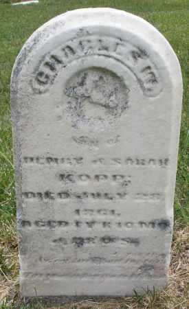KOPP, CHARLES - Montgomery County, Ohio   CHARLES KOPP - Ohio Gravestone Photos