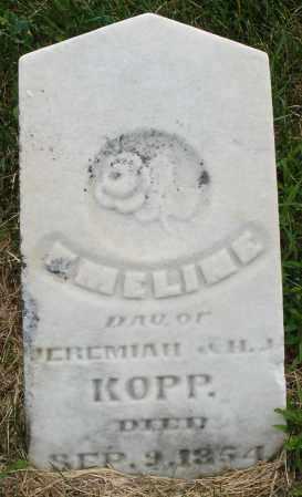 KOPP, EMELINE - Montgomery County, Ohio | EMELINE KOPP - Ohio Gravestone Photos