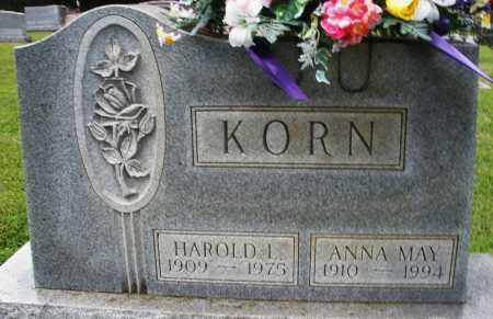 KORN, ANNA MAY - Montgomery County, Ohio | ANNA MAY KORN - Ohio Gravestone Photos