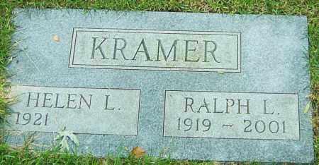 KRAMER, RALPH L - Montgomery County, Ohio   RALPH L KRAMER - Ohio Gravestone Photos