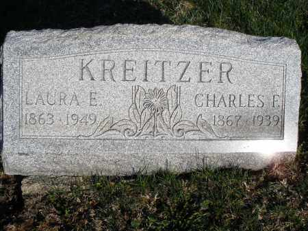 KREITZER, LAURA E. - Montgomery County, Ohio | LAURA E. KREITZER - Ohio Gravestone Photos