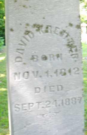 KREITZER, DAVID - Montgomery County, Ohio   DAVID KREITZER - Ohio Gravestone Photos