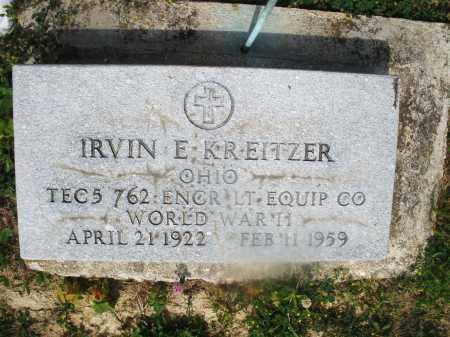 KREITZER, IRVIN E. - Montgomery County, Ohio | IRVIN E. KREITZER - Ohio Gravestone Photos