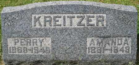 KREITZER, AMANDA - Montgomery County, Ohio | AMANDA KREITZER - Ohio Gravestone Photos