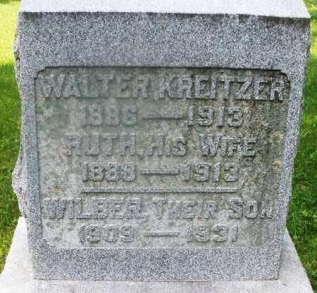 KREITZER, RUTH - Montgomery County, Ohio | RUTH KREITZER - Ohio Gravestone Photos