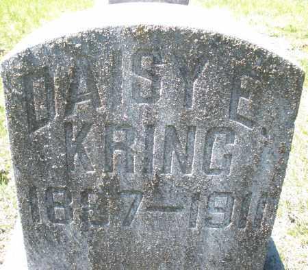 KRING, DAISY E. - Montgomery County, Ohio   DAISY E. KRING - Ohio Gravestone Photos