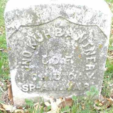 KUHBANTNER, JNO - Montgomery County, Ohio   JNO KUHBANTNER - Ohio Gravestone Photos