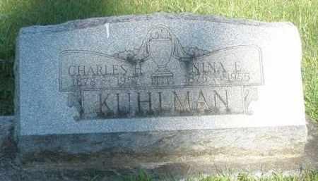 KUHLMAN, CHARLES H. - Montgomery County, Ohio   CHARLES H. KUHLMAN - Ohio Gravestone Photos