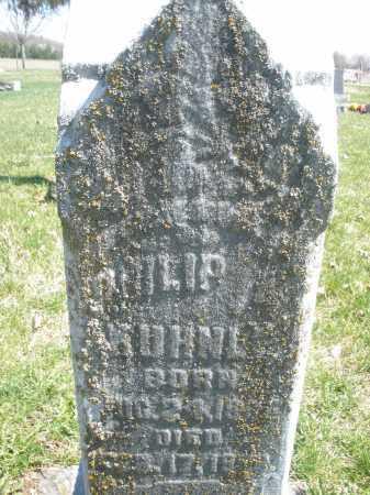 KUHNLE, PHILIP - Montgomery County, Ohio | PHILIP KUHNLE - Ohio Gravestone Photos