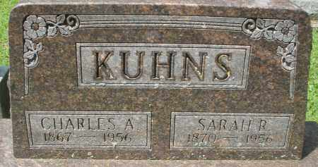 KUHNS, CHARLES A. - Montgomery County, Ohio | CHARLES A. KUHNS - Ohio Gravestone Photos
