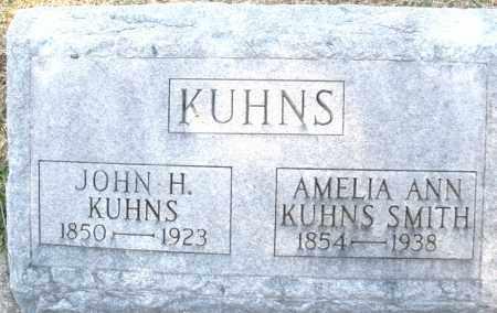 KUHNS, JOHN H. - Montgomery County, Ohio | JOHN H. KUHNS - Ohio Gravestone Photos