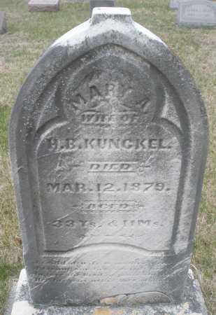 KUNCKEL, MARY A. - Montgomery County, Ohio | MARY A. KUNCKEL - Ohio Gravestone Photos
