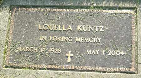 KUNTZ, LOUELLA - Montgomery County, Ohio | LOUELLA KUNTZ - Ohio Gravestone Photos