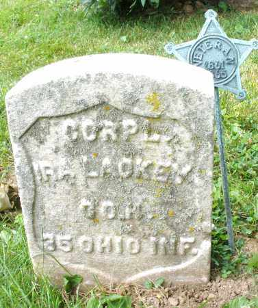 LACKEY, IRA - Montgomery County, Ohio | IRA LACKEY - Ohio Gravestone Photos