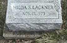 LACKNER, HILDA S. - Montgomery County, Ohio   HILDA S. LACKNER - Ohio Gravestone Photos