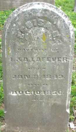 LAFEVER, LOUISA B. - Montgomery County, Ohio | LOUISA B. LAFEVER - Ohio Gravestone Photos