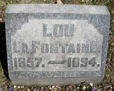 LAFONTAINE, LOU - Montgomery County, Ohio | LOU LAFONTAINE - Ohio Gravestone Photos