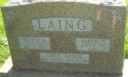 LAING, CAROL DENISE - Montgomery County, Ohio | CAROL DENISE LAING - Ohio Gravestone Photos
