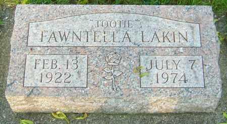 LAKIN, FAWNTELLA - Montgomery County, Ohio   FAWNTELLA LAKIN - Ohio Gravestone Photos