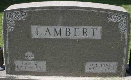 LAMBERT, JOSEPHINE P. - Montgomery County, Ohio | JOSEPHINE P. LAMBERT - Ohio Gravestone Photos
