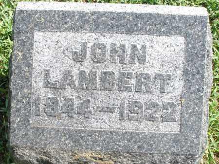 LAMBERT, JOHN - Montgomery County, Ohio | JOHN LAMBERT - Ohio Gravestone Photos
