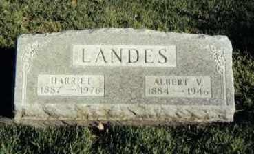LANDES, HARRIET - Montgomery County, Ohio | HARRIET LANDES - Ohio Gravestone Photos
